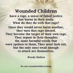 傷ついた子供たちは。。。。