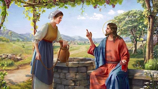 聖書の中の有名な場面。イエス様...
