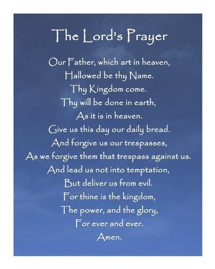 主の祈り 天にまします我らの父...