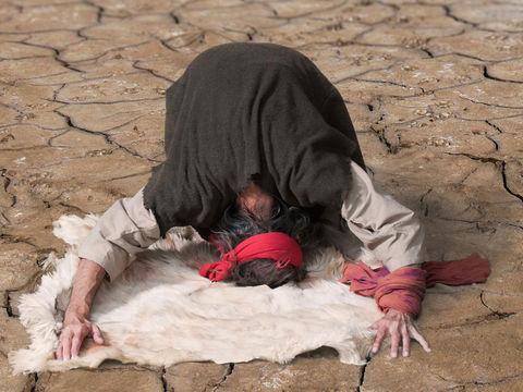 雨が降るように祈るエリア