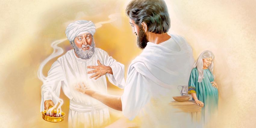 神の宮で奉仕中に天使から大切な...