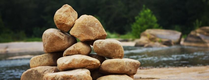 記念の石 A Memorial...